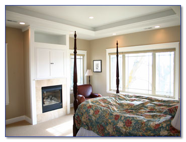 Markim construction project template for Raised bedroom ceiling